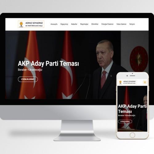 AKP Aday Parti Teması v1