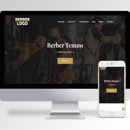 Berber Erkek Kuaförü Teması v2