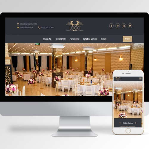 Düğün Salonu Teması v1