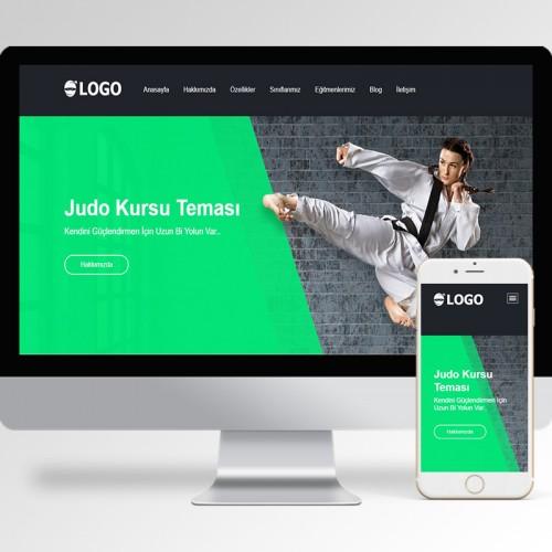 Judo Kursu Teması v1