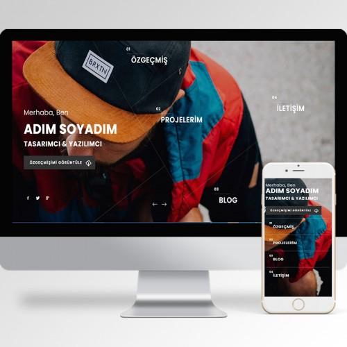 Kişisel Web Sitesi Teması v4