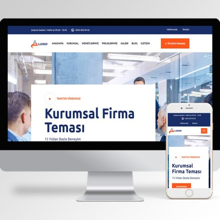 Kurumsal Firma Teması v62