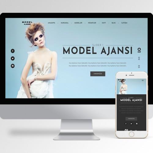 Model Ajansı Teması v4