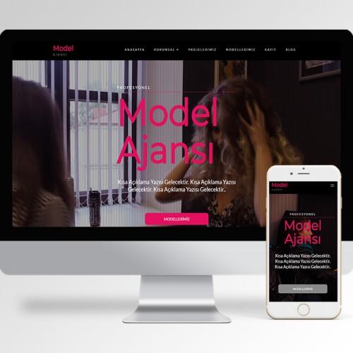 Model Ajansı Teması v5