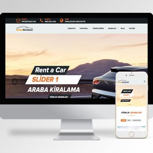 Rent A Car Teması v1