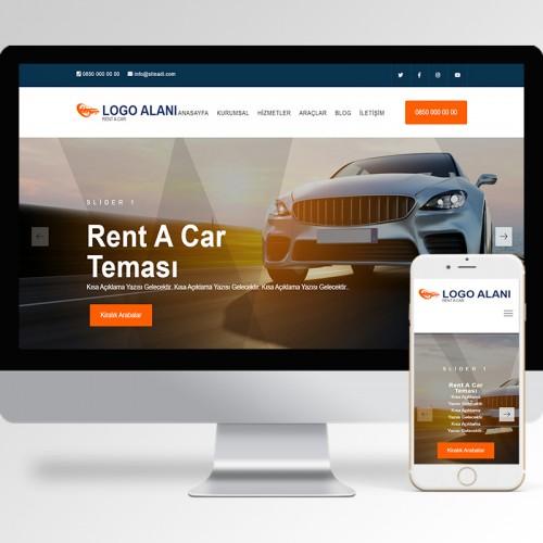 Rent A Car Teması v5