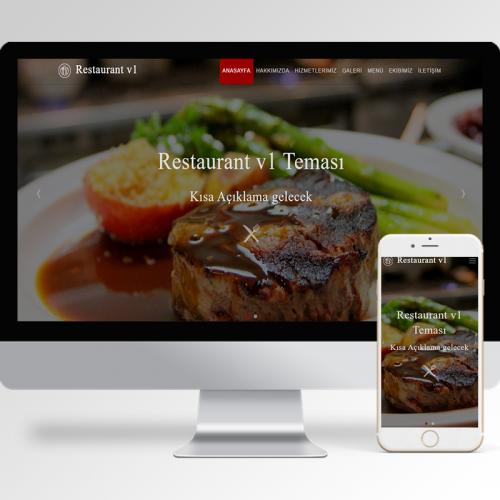 Restaurant Teması v1