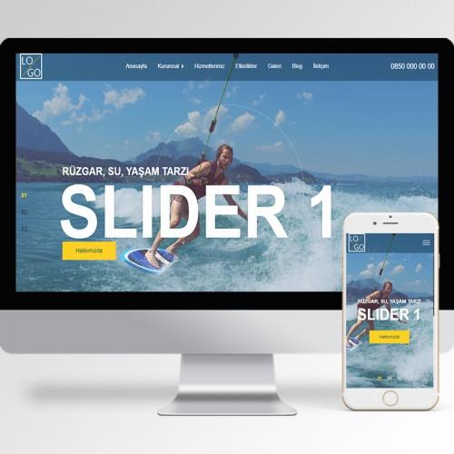 Sörf Kursu Teması v1