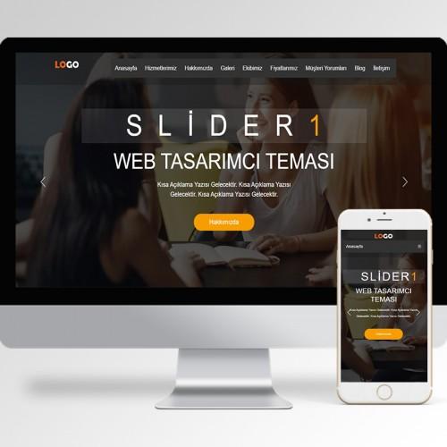 Web Tasarımcı Teması v4