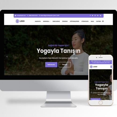 Yoga Teması v3